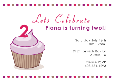 Happy 2nd Birthday Fiona